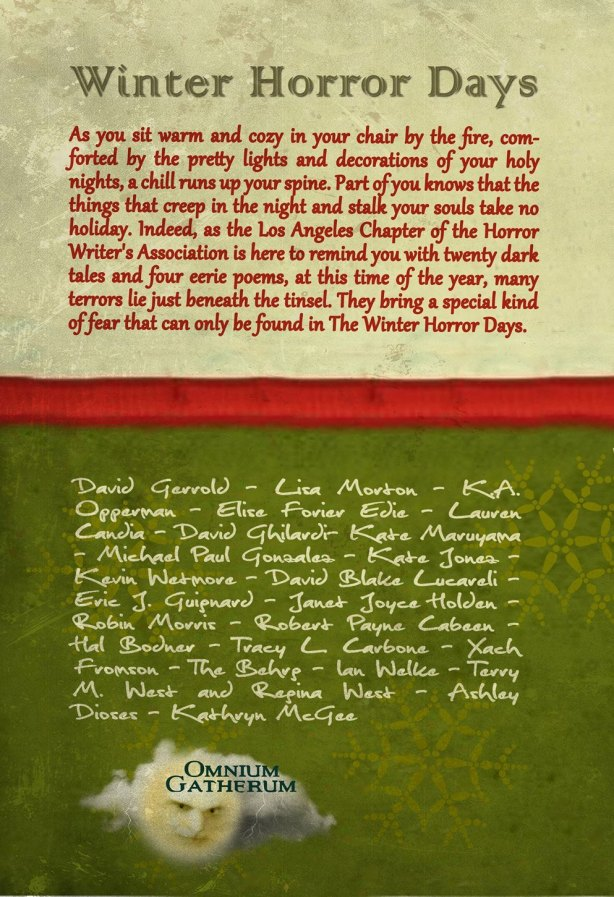 Winter Horror Days back Cover